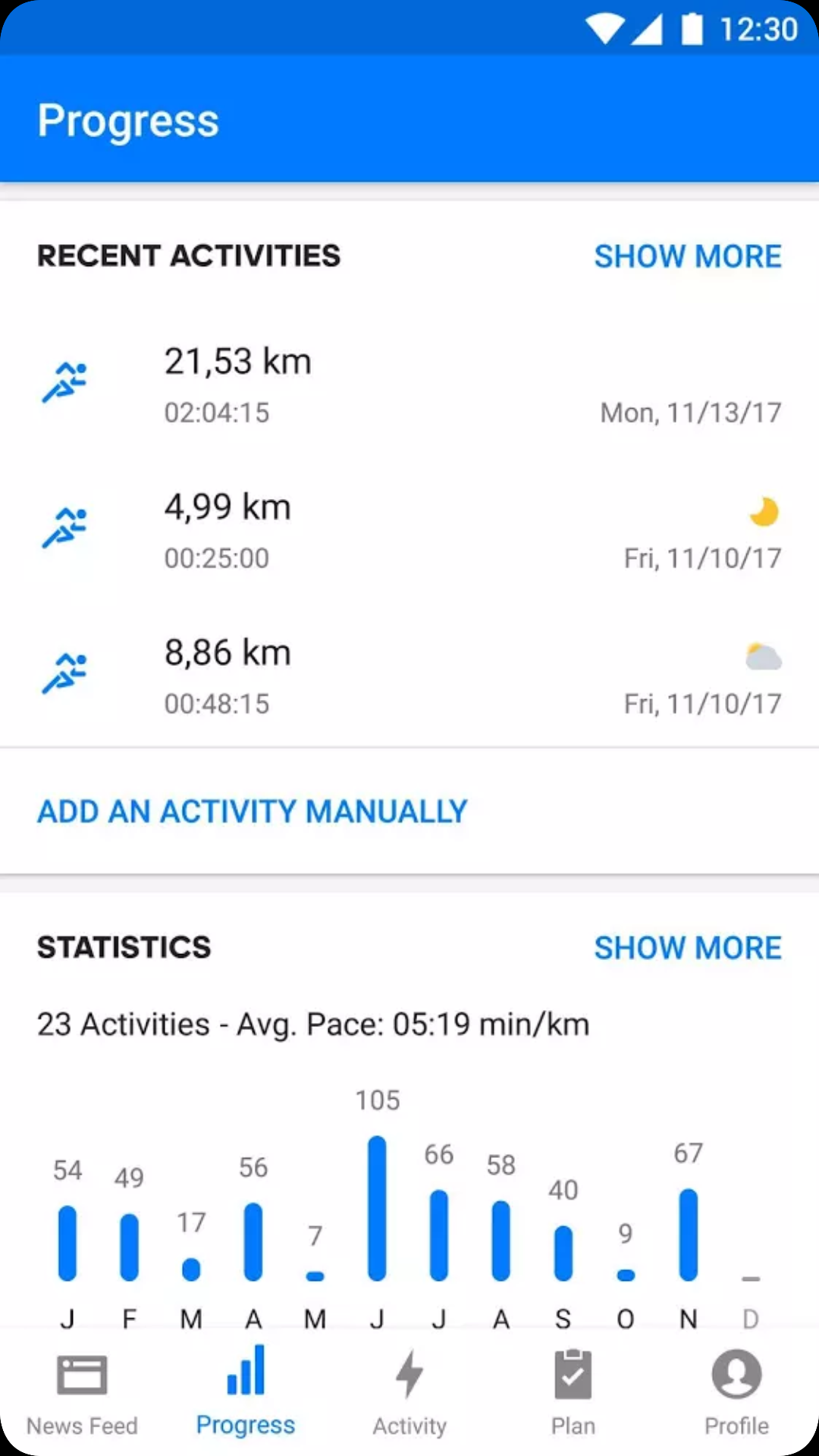 Runtastic App For Android