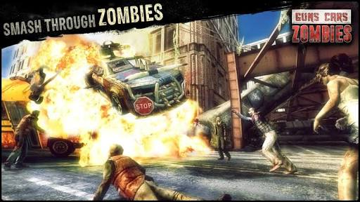 Guns Cars And Zombies Mod