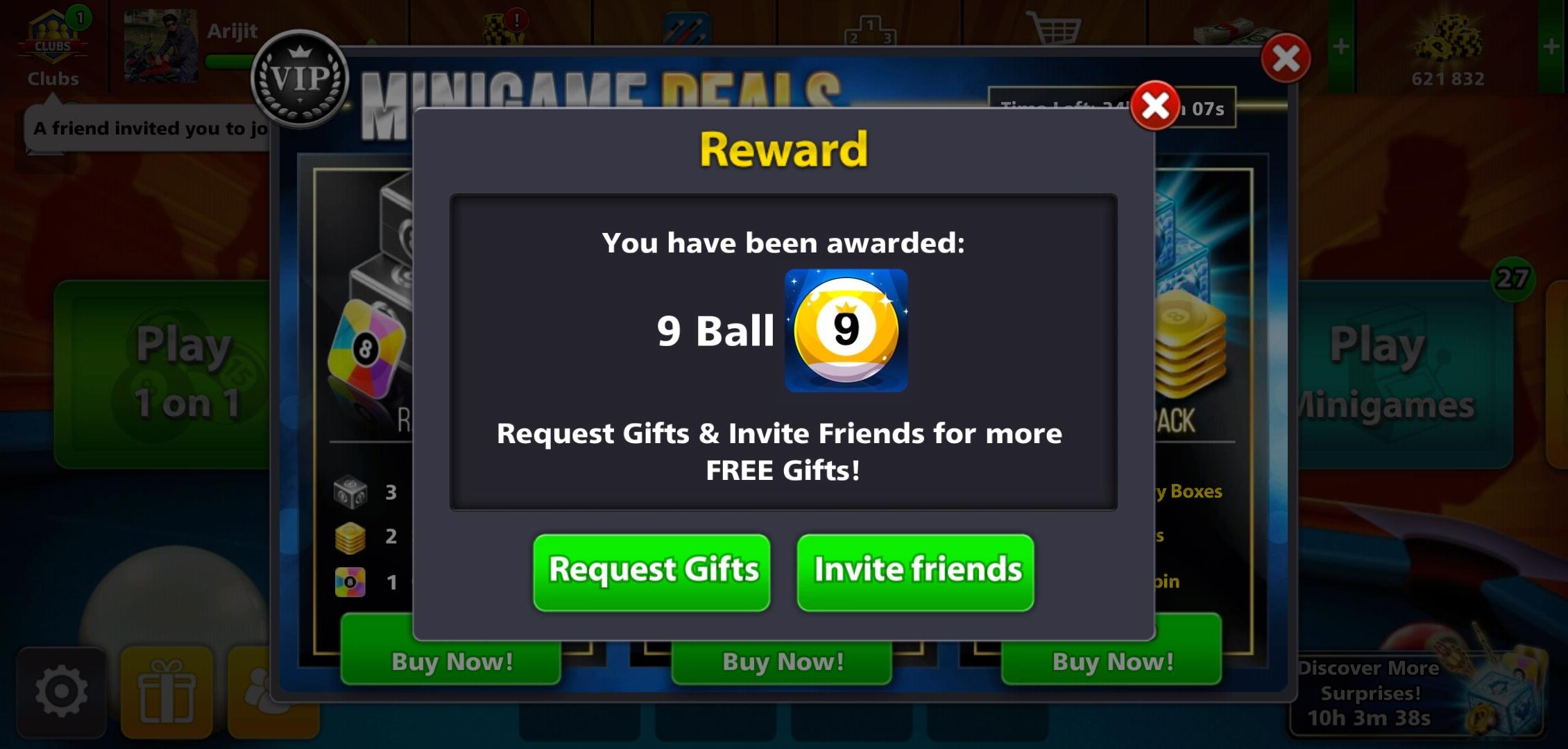 8Ball Pool Reward Links
