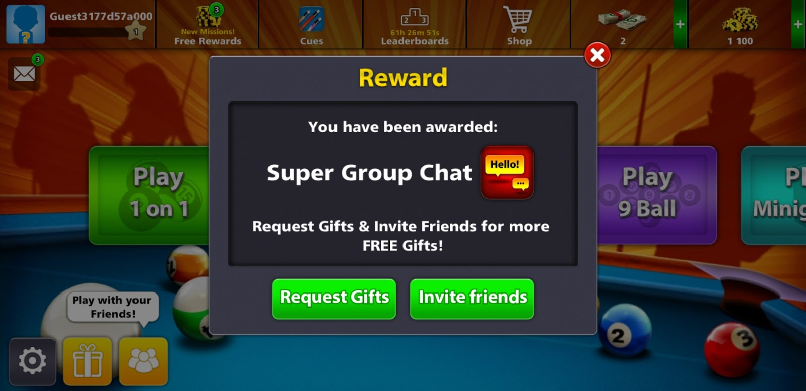8Ball Pool Reward Links