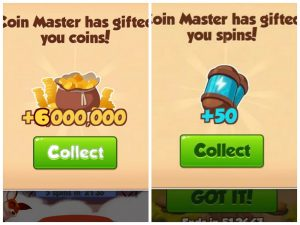 Coin Master Free Spin And Coins Links/Get Free 50 Spins And 6
